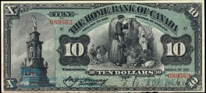 Because of the bank's relatively short lifespan, its banknotes are considered rare.