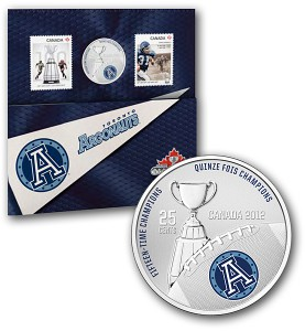 The 25-cent commemorative coin was issued alongside two commemorative stamps.