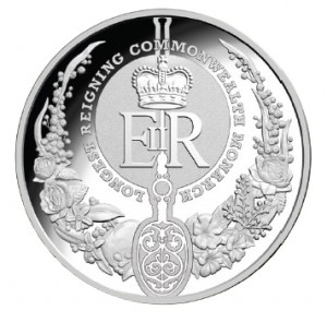 2015 RAM $5 Fine Silver Proof Coin- REV.
