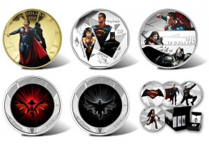 There are an additional five coins in the Mint's Batman v Superman series.