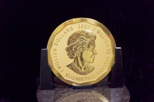 The coin, which features the effigy of Queen Elizabeth II on the obverse, is hand polished.