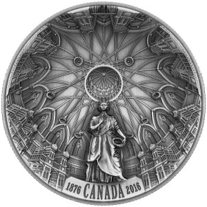 This $25 coin was named 'most technologically advanced silver commemorative' at the recent Mint Directors Conference.