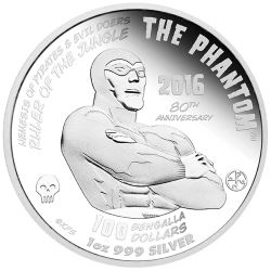 The Phantom medallion was designed by