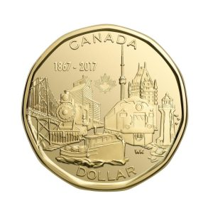 The $1 coin was designed by St. Catharines, Ont.'s Wesley Klassen, whose design was chosen as the winner of the 'Our Achievements' theme.