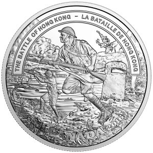 The Fine silver coin was designed by Canadian artist Joel Kimmel.