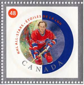 In 2002, Canada Post issued this 48-cent stamp honouring Guy LaFleur.