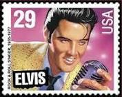 The United States 29¢ Elvis Presley commemorative issued in Jan. 8, 1993.