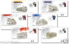 The Original Six NHl stamp designers Avi Dunkelman and Joe Gault will be at the show on Saturday from 12 noon to 2 p.m. to meet with collectors and autograph the stamps and first-day covers.