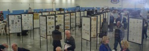 The exhibit display at last year's ORAPEX. (Photo by Dick Malott)