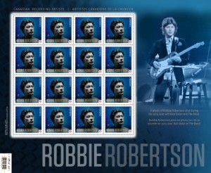 Panes of 12 stamps were also issued by Canada Post.