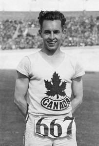 Percy Williams won both the 100- and 200-metre runs at the 1928 Olympics.
