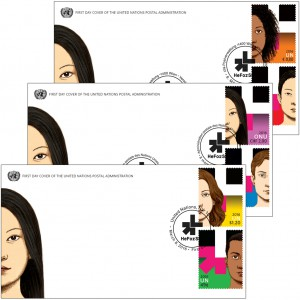 The UNPA also issued a series of first-day covers and special cancellations.