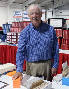Roy Houtby, owner of Roy's Stamps, has a wide selection of Canada and BNA stamps.