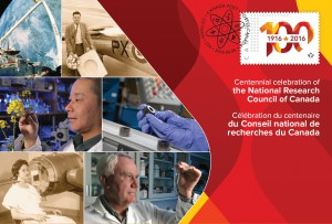 On June 6, Canada Post will also issue this commemorative envelope marking the 100th anniversary of the National Research Council.