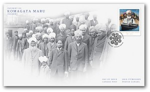 Canada Post also released this first-day cover with its 2014 Komagata Maru issue.