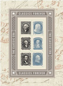 USPS issued this souvenir sheet of six commemorative Forever stamps dubbed 'Classics Forever' on June 1.