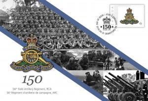 56th Field Artillery Regiment, RCA - Commemorative Envelope