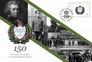 The Queen's York Rangers (1st American Regiment) (RCAC) - Commemorative Envelope