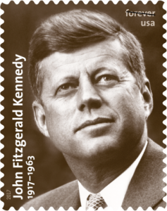J.F.K. will also be commemorated on a USPS stamp next year.