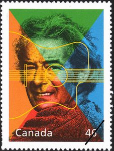 Felix Leclerc was also featured in Canada Post's 'Extraordinary Entertainers' set.