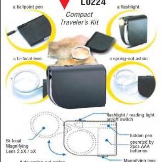 Compact Travelers Kit