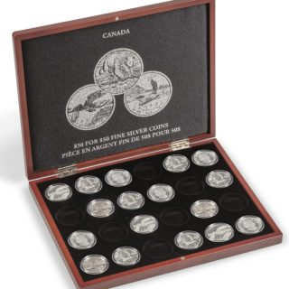 Presentation Case $50 for $50 Fine Silver Coins Canada