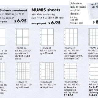 NumisSheets2017