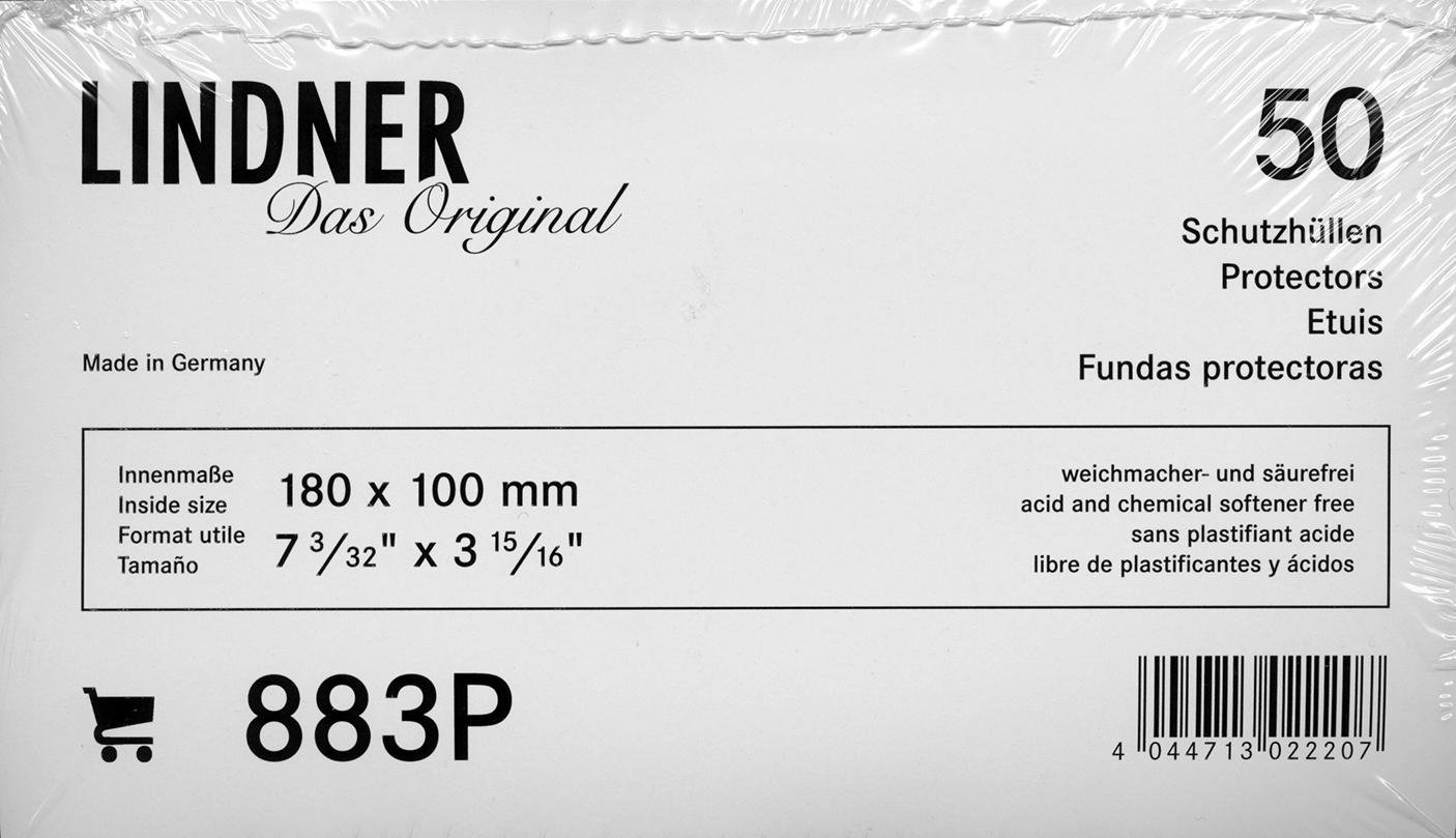 Lindner Cover & Postcard Protectors
