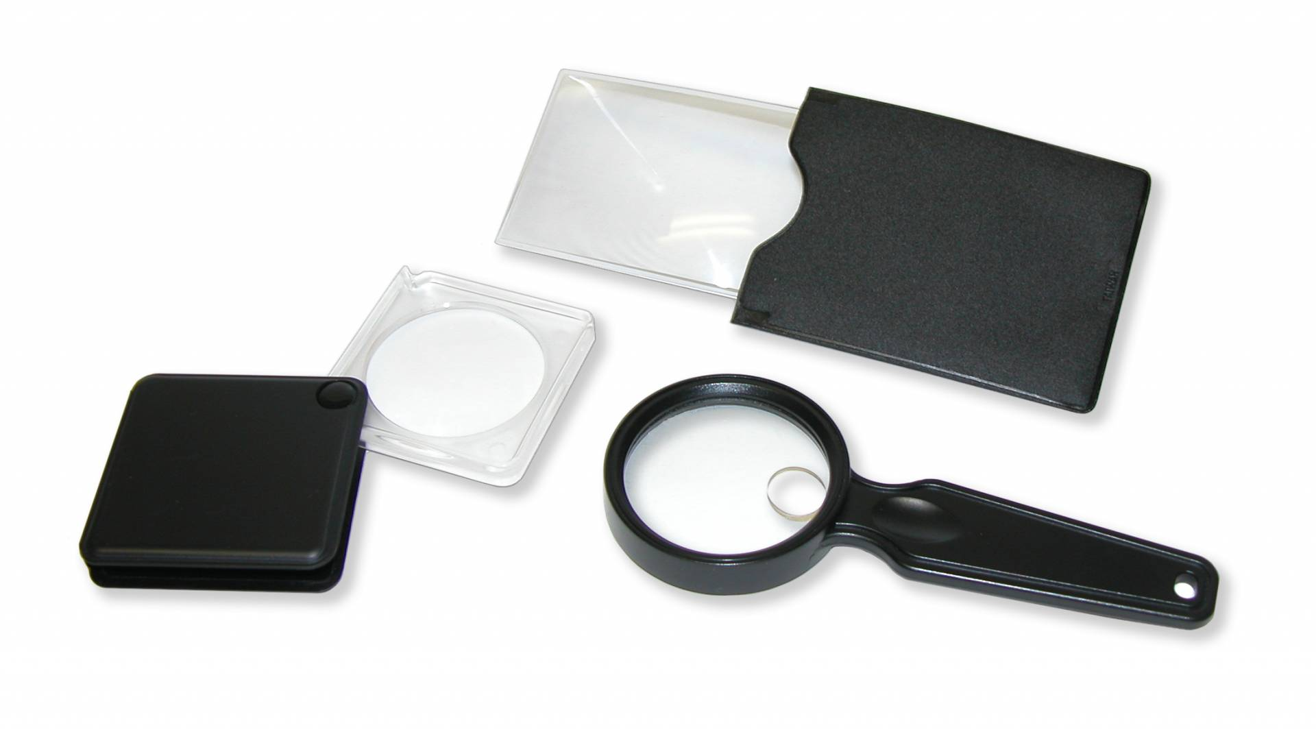 VP-01 ValuePak offers an assortment of three compact magnifiers